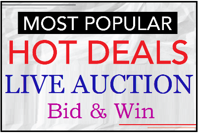 Super Deals - Live Auction