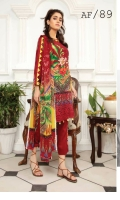 Embroidered Viscose Chikankari Chiffon Dupatta Plain Trouser