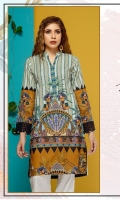 Embroidered Lawn Stitch Shirt