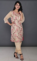 Embroidered Missouri Net Stitched Kurti