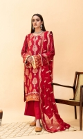 Embroidered Linen Front Embroidered Linen Back Embroidered Organza Front Border Embroidered Linen Sleeves Embroidered Organza Sleeve Patch Linen Pants Embroidered Chiffon Dupatta