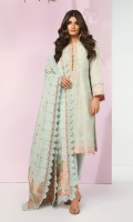 Jacquard Dupatta Jacquard Shirt 3.12 Meters Separate Embroidered Neckline Dyed Cambric Trouser
