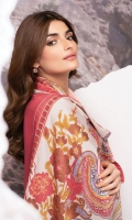 Shirt: Embroidered Cotail Viscose Shirt 3.12 Meters Fabric: Viscose  Dupatta: Cotail Viscose Dupatta Fabric: Viscose  Trouser: Dyed Viscose Trouser Fabric: Viscose