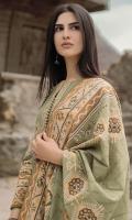 Shirt: Embroidered Khaddar Shirt 3.12 Meters Fabric: Khaddar  Dupatta: Light Khaddar Dupatta Fabric: Khaddar
