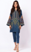 Embroidered Khaddar Shirt 3.12 Meters