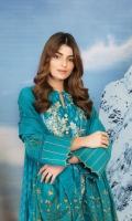 Shirt: Embroidered Khaddar Shirt 3.12 Meters Fabric: Khaddar  Dupatta: Khaddar Dupatta Fabric: Khaddar