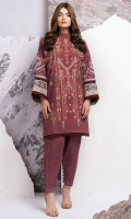 Printed Khaddar Shirt 3.12 Meters