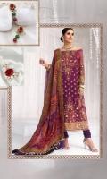 Printed Digital Silk Dupatta Printed Digital Cotton Net Shirt 3.8 Meters Lawn Cotton Slip Dyed Cambric Trouser
