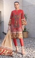 Digital Doria Dupatta Digital Lawn Shirt 3.12 Meters Dyed Cambric Trouser