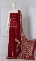 Embroidered Banarsi Chiffon Saree  Saree Chiffon Plain Silver and Gold Zari