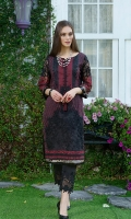 Front: Full Embroidered Sleeves: Full Embroidered Back: Plain Dyed Back Embroidery: Thread Embroidery with Sequin Details.