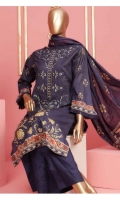 Shirt : Digital Printed Lawn Dupatta : Digital Printed Lawn Trouser: Dyed Cotton  EMBROIDERY: Embroidered Front on Shirt