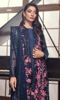 Embroidered Chiffon Front Embroidered Chiffon Back Embroidered Chiffon Sleeves Embroidered Front & Back Patch Embroidered Sleeves Patch Embroidered Dupatta Grip Trouser