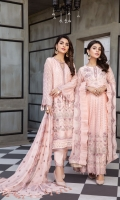 Embroidered Chiffon Front Embroidered Chiffon Front + Back Body Embroidered Chiffon Back Embroidered Chiffon Sleeves Embroidered Chiffon Front + Back + Sleeves + Neckline Patch Embroidered Chiffon Dupatta Embroidered Trouser Patch Dyed Raw Silk Trouser