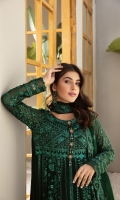 Embroidered Chiffon Front Panel (2) Embroidered Chiffon Back Embroidered Chiffon Kalli Embroidered Chiffon Sleeves Embroidered Chiffon Front + Back + Sleeves Patch Embroidered Chiffon Dupatta Dyed Grip Trouser