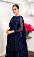 Embroidered Chiffon Front Embroidered Chiffon Back Embroidered Chiffon Front Back Body Embroidered Chiffon Sleeves Embroidered Front + Back Patch (2) Embroidered Chiffon Dupatta Dyed Grip Trouser