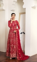 Embroidered Chiffon Front Kalli Embroidered Chiffon Back Kalli Embroidered Chiffon Front Back Body Embroidered Chiffon Sleeves Embroidered Chiffon Front + Back Patch Embroidered Chiffon Dupatta Dyed Grip Trouser