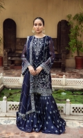 Embroidered Chiffon Front Embroidered Chiffon Back Embroidered Chiffon Side Kali Embroidered Chiffon Front + Back Patch  Embroidered Chiffon Sleeves Embroidered Chiffon Sleeves Patch Embroidered Chiffon Dupatta Embroidered  Chiffon Dupatta Patch Embroidered Trouser Patch Dyed Russian Grip Trouser