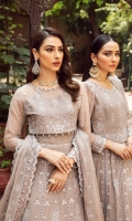 Embroidered Chiffon Front Kali Embroidered Chiffon Back Kali Embroidered Chiffon Front Body Embroidered Chiffon Back Body Embroidered Chiffon Sleeves Embroidered Chiffon Sleeves Patch Embroidered Chiffon  Front + Back Patch 2 Embroidered Chiffon Dupatta Embroidered Chiffon Dupatta Patch 2 Dyed Raw Silk Trouser