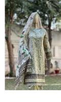 - Lawn fabric shirt designs  - Lawn dupatta  - Dyed cambric trouser