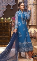 Thin embroidered border 1 meter Embroidered and hand touched sleeves with 3D work (2) Embroidered and 3D hand worked front and back 90