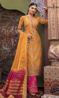 """Embroidered front with hand work (W=26"""" H=45"""") Embroidered back with hand work (W=26"""" H=45"""") Embroidered sleeves with handwork (W=39 H=26"""