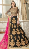 16 Embroidered Lehnga Panels (42