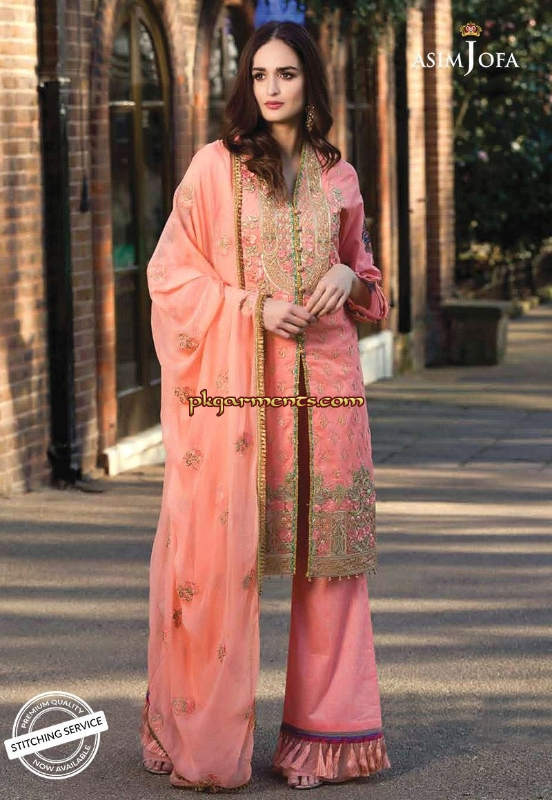 4adf3099b1 Asim Jofa Luxury Lawn Spring Summer Collection 2019 | Pakistani ...
