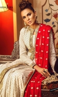 Embroidered thin border (4.8 meters) Embroidered thick border (4.8 meters) Embroidered pallus (2.5 yard) Embroidered dupatta (2.5 meter) Dyed trouser (2.5 meter)
