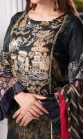 3.0 meter embroidered lawn shirt  2.5 meter trouser 2.5 meter crinkle chiffon dupatta