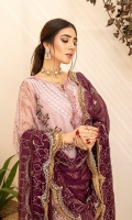 Embroidered Organza Front Embroidered Organza Back Embroidered Organza Sleeves Embroidered Chiffon Dupatta Extra Embroidered Panel Raw Silk Trouser Embroidered Organza patch for Trouser