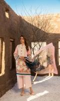 Shirt: Lawn - 2.75 Meter Dupatta: Chiffon - 2.5 Meter Shalwar: Cambric - 2.5 Meter