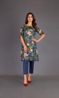 Shirt: Printed Lawn - 2.5 Meter Shalwar: Cambric - 2.50 Meter