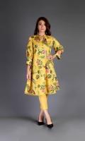 Shirt: Printed Lawn - 2.5 Meter Shalwar Plain Cambric - 2.5 Meter