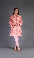 Shirt: Printed Swiss Lawn - 2.5 Meter Dupatta: Chiffon - 2.5 Meter Shalwar: Cambric - 2.5 Meter