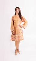 Shirt: Printed Lawn - 2.2 Meter Dupatta: Chiffon - 2.5 Meter Shalwar: Cambric - 2.5 Meter