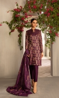 Shirt: Embroidered Net - 3 Meter Dupatta: Embroidered Net - 2.5 Meter