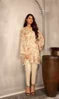 Shirt: Embroidered Lawn - 2.5 Meter Dupatta: Embroidered Lawn - 2.5 Meter Shalwar: Plain Cambric - 2.5 Meter