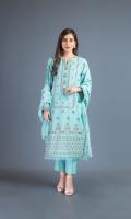 Shirt 1m Back 1.5m Dupatta 2.5m Shalwar 2.5m