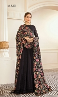 Embroidered Front (2 Yard) Plain Back (2 Yards) Embroidered Sleeves (0.72 Yards) Embroidered Sleeves Patch (Velvet) (1.10 Yards) Embroidered Front and Back Patch (Velvet) (4 Yards) Dyed Silk Trousers (2.50 Yards) Embroidered Chifoon Dupatta (2.50 Yards)