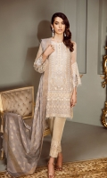 Embroidered Front Panel Embroidered Side Panel Embroidered Sleeves Embroidered Sleeves Patch Embroidered Front and Back Patches Plain Back Embroidered Trousers Patch Silk Trousers Jacquard Dupatta