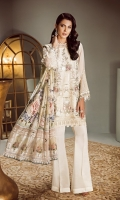 Embroidered Front Embroidered Sleeves Embroidered Sleeves Patch Embroidered Front and Back Patch Plain Back Silk Trousers Printed Tissue Silk Dupatta