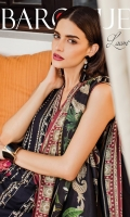 Embroidered Lawn Front  Digital Printed Lawn Back + Sleeves  Embroidered Neckline Patch  Embroidered Front Patch  Dyed Cambric Lawn Trousers  Digital Printed Silk Dupatta