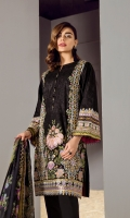 Embroidered Swiss Lawn Front Embroidered Swiss Lawn Sleeves Plain Swiss Lawn Back Embroidered Sleeves Patch Embroidered Front & Back Patch Dyed Cambric Lawn Trousers Digital Print Chiffon Dupatta