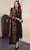 EMBROIDERED SWISS LAWN FRONT EMBROIDERED SWISS LAWN SLEEVES PLAIN SWISS LAWN BACK EMBROIDERED SLEEVES PATCH EMBROIDERED FRONT + BACK PATCH EMBROIDERED CHIFFON DUPATTA DYED CAMBRIC LAWN TROUSERS