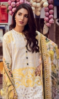 3.2 Meter Embroidered Lawn Shirt 2.5 Meter Digital Chiffon Duppata 2.5 Meter Print Trouser 2 Pcs Trouser Embroidered