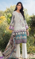 Printed Shirt 2.9 M Lawn Printed Dupatta 2.5 M Embroidered Neckline On Fabric: 1 Pc