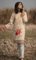 Embroidered Front: 1.1M Dyed Back & Sleeves: 1.7 M Embroidered Front Border: 0.6 M Embroidered sleeves Border: 0.8 M
