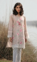 Embroidered Front: 1.1 M Dyed Back &Sleeves: 1.7 M Embroidered Front Border: 0.6 M Embroidered Sleeves Border: 0.8 M