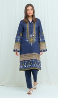 Printed Lawn Shirt: 2.9 M Embroidered Border: 0.7 M Embroidered Sleeves Patti: 0.7 M Dyed Pants: 2.5 M